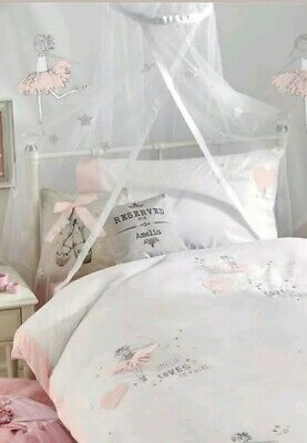 Next Brand New White Star Canopy from next - Girls Bedroom 120cm(H) x 35cm(W)