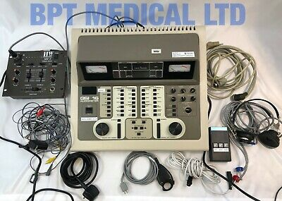 GSI Grayson-Stadler GSI 16 Diagnostic Clinical Audiometer 1716 W/ Accessories