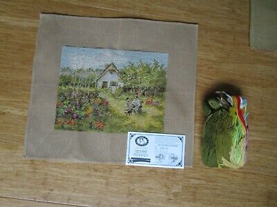 Queen Adelaide Tramme Tapestry Kit + Wool Of A House, Garden & Father & Daughter