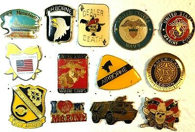 13 PINS USA ARMY war,