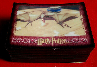 The World Of HARRY POTTER in 3D - COMPLETE BASE SET - 72 trading cards - ARTBOX