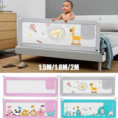 Kid Bed Safety Rail Baby Bed Rail 2m Toddler Bed Guard 150cm Adjustable Folding