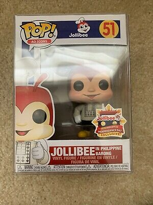 Funko Pop! AD ICON #51 JOLLIBEE With Barong Exclusive New Mint w/protector