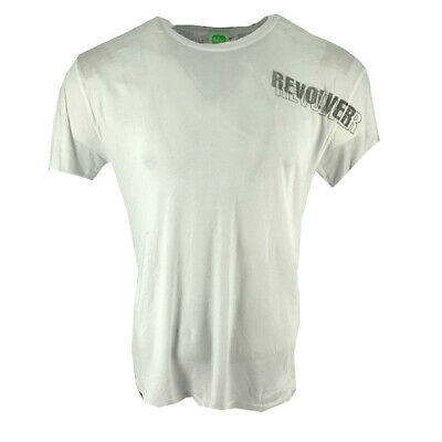 The Beatles Revolver Rear Print Men's T-shirt White Official Licensed Music