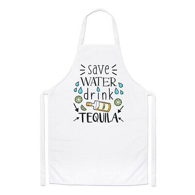 Save Water Drink Prosecco Chefs Apron