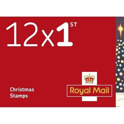 50x12 (600 stamps) 1st Class Xmas Stamps Worth £420