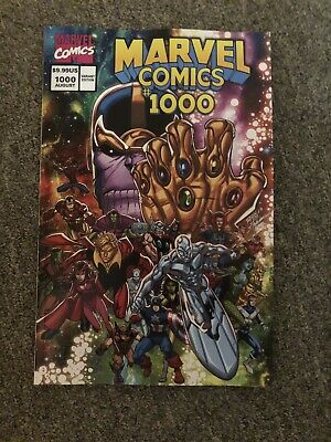 Marvel Comics #1000 - LIM 90's - THANOS -  variant - NM+ 1st  historic KEY issue