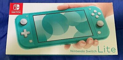 Nintendo Switch Lite In Turquoise Brand New In Box ~ Free Uk Delivery
