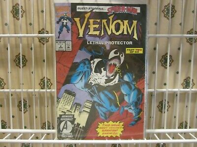 Marvel Comics Venom Lethal Protector Volume 1 No. 2 March 1993 Comic Book