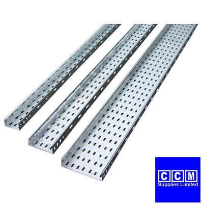 Legrand Swifts Medium Duty Cable Tray 3 Metre Lengths 50Mm - 300Mm