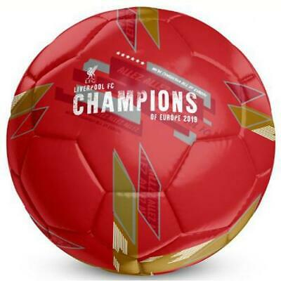 Liverpool Fc Champions Of Europe Size 5 Football - Official Gift