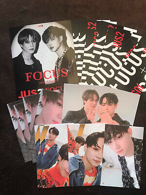 JUS2 - Member Choice - Official Focus On Me Album Photocards GOT7