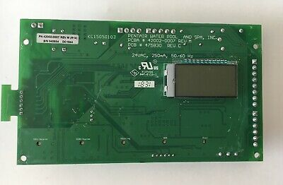 Pentair 42002-0007 REV M 475830  Rev c Control Board