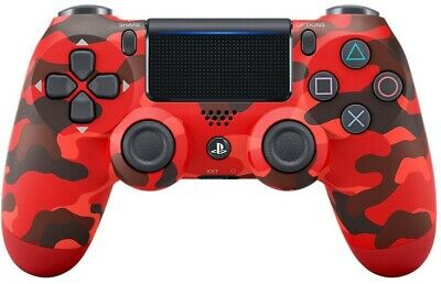 Official SONY DualShock 4 V2 Wireless Controller - Red Camouflage | BRAND NEW