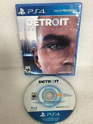 PS4 Detroit Become Human - Tested Disc / Ships Within 24 Hours