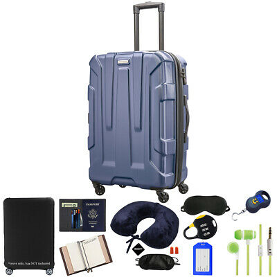 """Samsonite Centric Hardside 24"""" Expandable Spinner Luggage w/ 10pc Accessory Kit"""