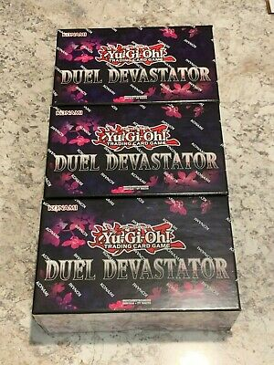 Yugioh 3 Duel Devastator Box Factory Sealed English! PRESALE Ships TODAY!!