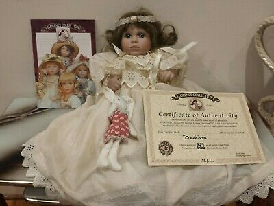 Florence Collection Porcelain dolls( 35cm height )