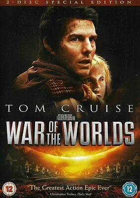 War Of The Worlds DVD (2005) Tom Cruise, Sci-Fi Film