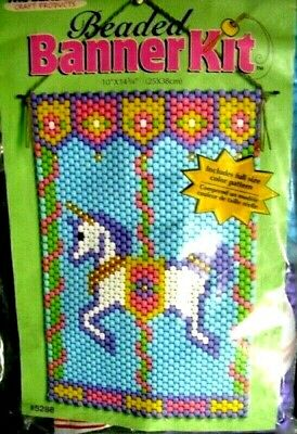 """Unicorn Carosel""    Beaded Banner Kit"