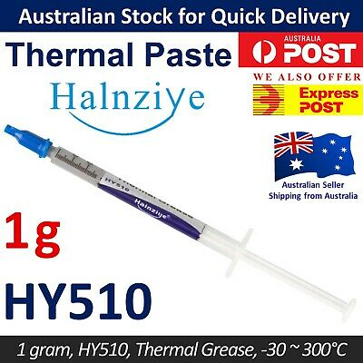 Thermal Paste HY510 1g CPU GPU Heatsink Silicon Grease Compound