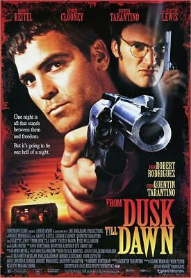 From Dusk Till Dawn Movie Art Silk Poster 12x18 24x36