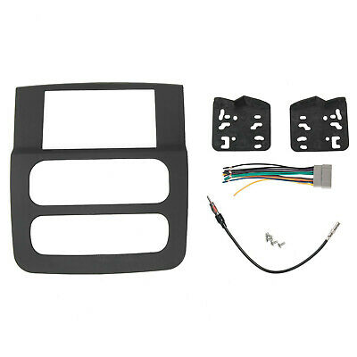 Car Stereo Radio Double Din Installation Dash Kit For 02 03 04 05 Dodge Ram