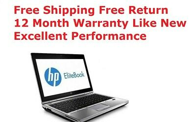 "HP EliteBook 2570p 12.5""HD- i7-3520M 2.90GHz, 8GB 500GB Win10P 12 Month Warranty"