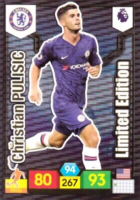 Panini Adrenalyn Premier League 19//20 Limited Edition Christian Pulisic Chelsea