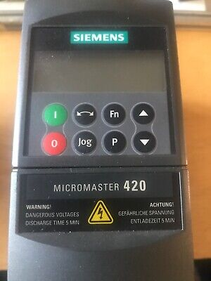 Micromaster 420 Drive And BOP panel