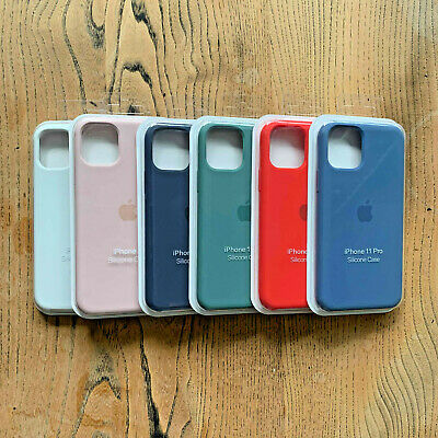 Official Apple iPhone Silicone Case for iPhone 11, 11 Pro, 11 Pro Max