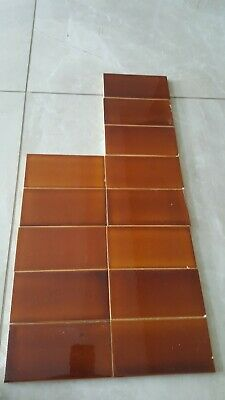 Antique hearth tiles 1920's fireplace