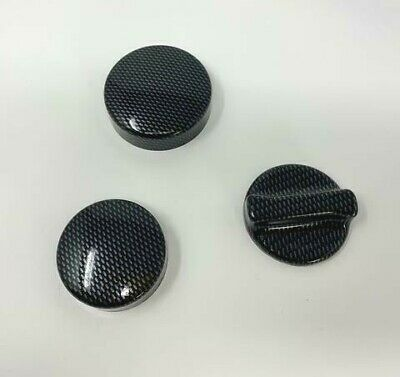 Ford Focus MK3 RS Ecoboost, ST Focus MK3 Engine Cap Cover Kit Carbon Effect
