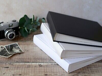 High Quality Small Traditional Book Bound Photo Album. 30 pages / 60 sides.