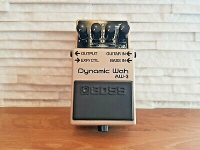 Boss AW-3 Dynamic Wah Auto Envelope Filter Guitar effects pedal.