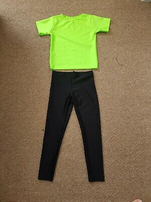 """Boys 6-8yrs ADFP Beginner Dance / Freestyle outfit  /costume 24-26"""" chest"""