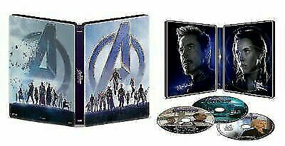 Avengers: Endgame ( Blu-ray, 2019, Limited Edition)