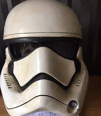 Jim Tripton FIRST ORDER STORMTROOPER HELMET STAR WARS THE FORCE AWAKENS