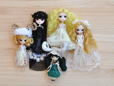 Pack x5 Little Pullips and Little Dals Jun Planning doll