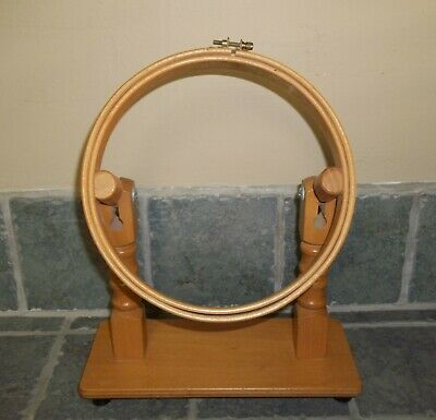embroidery and quilting hoop w/ jointed stand