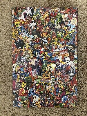 Marvel Comics #1000 - GARCIN COLLAGE variant - NM+ 1st print  historic KEY issue