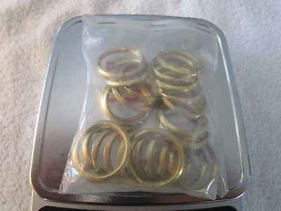 Pack Of Brass Rings