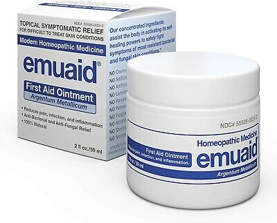 Emuaid Homeopathic Ointment Natural Healing 2 oz. Exp: 3/2021-
