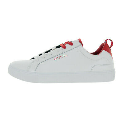 SCARPE GUESS UOMO Sneaker Luiss Low In Pelle White