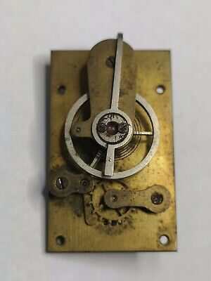 Vintage Clock Platform Escapement 24.94mm X 41.03mm Spares Or Repair (E5)