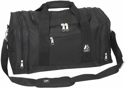 Everest Luggage Sporty Gear Bag Black