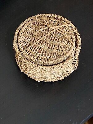 Wicker Coasters Placemats