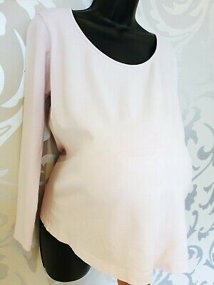 Ladies Mothercare Maternity Stretch Long Sleeved T Shirt Top Size 16
