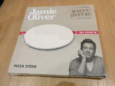 Jamie Oliver Pizza Stone and Serving Rack (nearly new)
