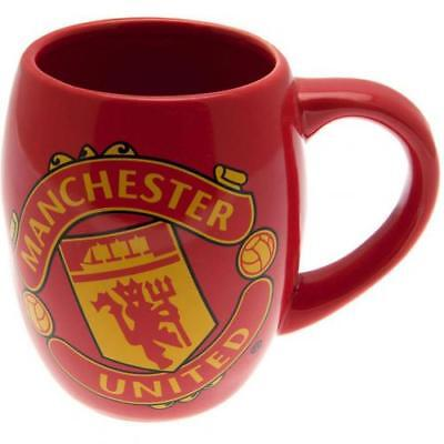 Manchester United F.c Big Crest Ceramic Tea Tub Mug - Official Gift